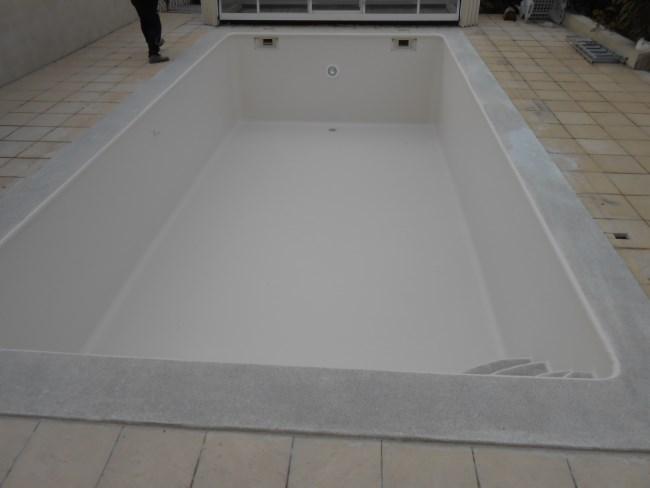 Piscine b ton liner sud resine for Liner piscine beton