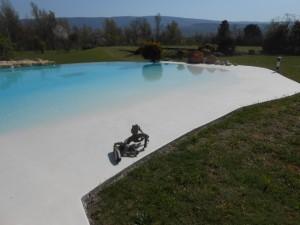 Rénovation d'une piscine coque fendue à chateaurenard 3
