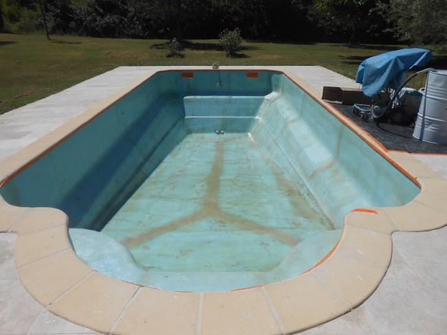 C pansement sur fente sud resine for Pansement piscine
