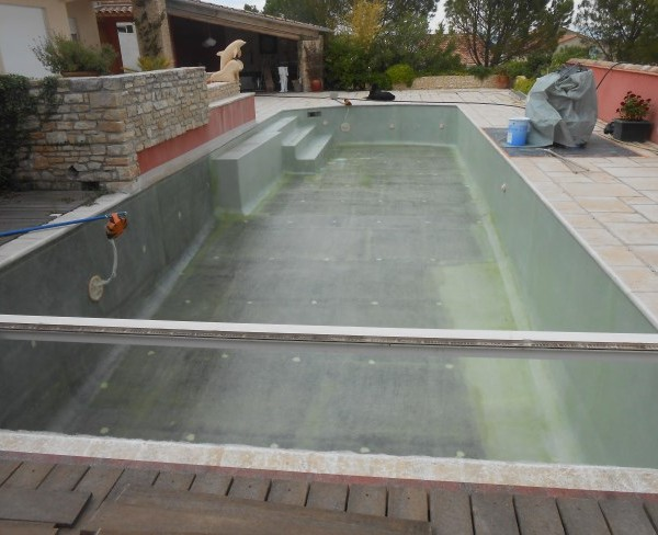 R paration piscine b ton et carrelage sud resine for Carrelage du sud