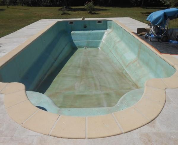 Chantiers sud resine for Pansement piscine
