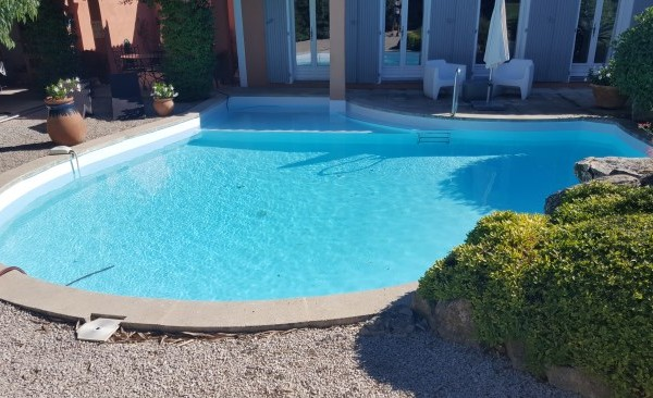 piscine rénovée